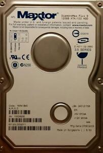 used Maxtor 120Gb ATA / 133 HDD West Island Greater Montréal image 1
