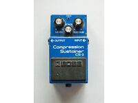 Boss Compression/Sustainer CS-2 guitar effects pedal