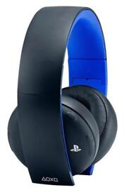 Excellent condition PS4 2.0 Sony wireless headset
