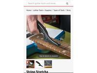 Guitar string stretcha tool