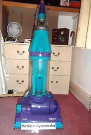 dyson DC07 ALL FLOORS NEW MOTOR + 3 month warranty bagless upright vacuum cleaner fully refurbished