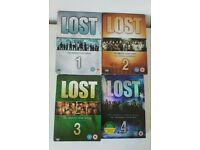 Lost DVD box set complete series 1 & 2 & 3 & 4