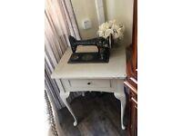Stunning Vintage Singer Sewing Machine Table
