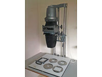 De Vere 54 Enlarger complete with condenser and cold cathode heads