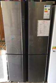 SHARP SJ-EX820FSL AMERICAN STYLE 4 DOOR FRIDGE FREEZER
