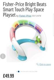Fisher price bright beats play space