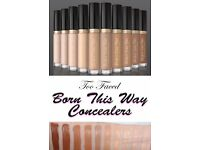 BRAND NEW Too Faced Born this way Concealer RRP£20 (light medium & medium shade)