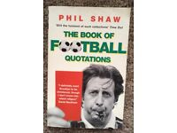 Book of FOOTBALL QUOTATIONS