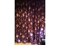 STUNNING NEW 108 x 90 pair eyelet lined curtains floor 2 ceiling curtains patio doors front door