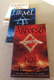 3 Old Kingdom paperbacks by Garth Nix