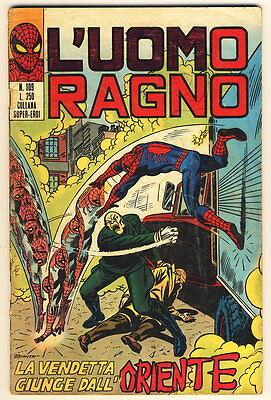 L'UOMO RAGNO 109 CORNO 1974 VENDETTA GIUNGE DALL'ORIENT