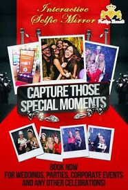 Magic Selfie Mirror / Photobooth - Prestige Moments
