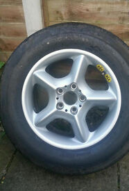 NEW SPARE TYRE FOR BMW X5, RANGEROVERS AND OTHER 4X4 CARS