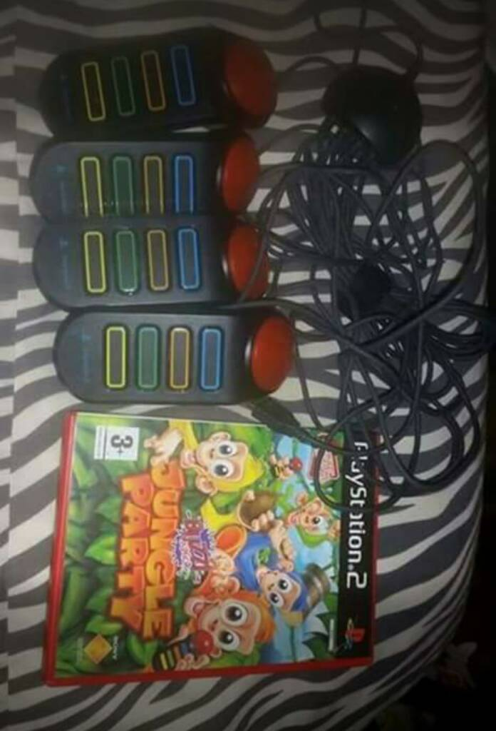 Ps2 junior jungle party with buzzers