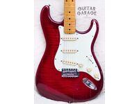 1994 Fender Japan Vintage Stratocaster Foto Flame guitar, V maple neck - MIJ - CAN POST!