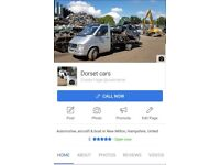 All scrap cars,vans,4x4s and all light commercials wanted