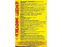 Leeds Festival Weekend Camping ticket x1 + loo pass