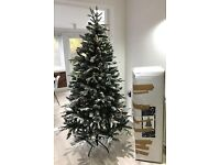 House Of Fraser Christmas Tree 6ft Whistler Pre-lit With Extra Lights and Decorations RRP £230