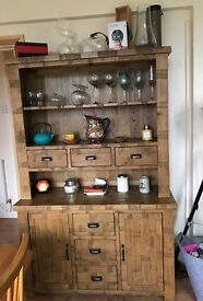 Brand New Original Rustic Solid Oak Large Dresser