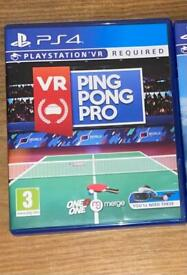 Psvr ping pong pro