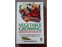 Vegetable Growing Month by Month by John Harrison