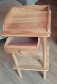 FREE Solid pine telephone/side table Excellent As New condition