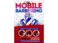 Mobile Barber coming to a home near you