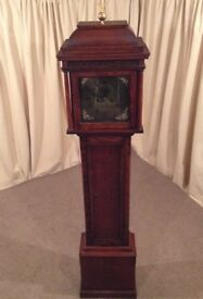 Antique Grandfather Clock - Long case Georgian / Victorian 8 Day Clock
