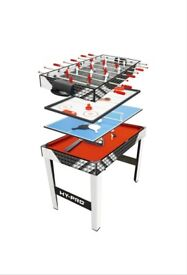 Hy-Pro 4 in 1 Games Table
