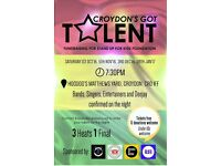 We need Artists, Musicians, Bands, Singers, Dancers for Croydon'g Got Talent, @ Hoodoos 1st Oct 16