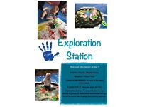 Exploration station- messy and sensory classes