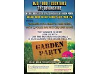 FREE HOUSE MUSIC Garden Party BANK HOLIDAY SUNDAY With Cut The Mustard Recordings