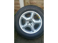 Brand New Spare Tyre for BMW X5/X6/X3 Range Rovers or 4X4