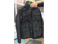 MA STRUM TORCH JACKET, HOODED GREEN SHIMMER FROM 2010. ORIGINAL AND BEST. XL. RARE
