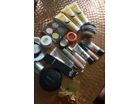 Mac Cosmetics Burts Bees YSL Revlon Makeup Job Lot Eyeshadow Lipgloss Foundation