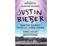 Justin Bieber Hyde Park 2nd July 1pm
