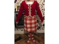 Highland dancing kilt out fit for sale