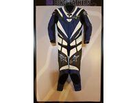 Alpinestars Troy Lee Designs One Piece Motorcycle Leather Suit - EU 48 / UK 38 - BB Bike Leathers