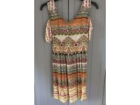 Gypsy / Hippy / Grunge / Festival dress, small, excellent condition