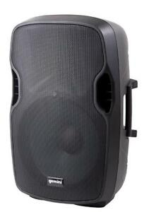 Gemini AS-08BLU Bluetooth 8-inch Portable Active PA Loudspeaker