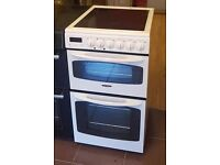 50cm Tricity Bendix Ceramic Top Cooker, Double Oven/Fan Assisted - 6 Months Warranty