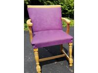 Wooden armchairs ex hotel quality items