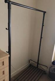 Ikea Portia garment rack firm and sturdy