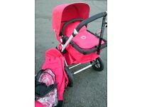 Red Bugaboo Cameleon 2 - Pram, Pushchair REDUCED TO CLEAR!