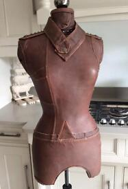 Real Leather Mannequin All Saints Style