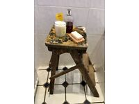 Vintage Small Wooden Step Ladders