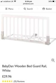 Babydan bed guard in excellent condition