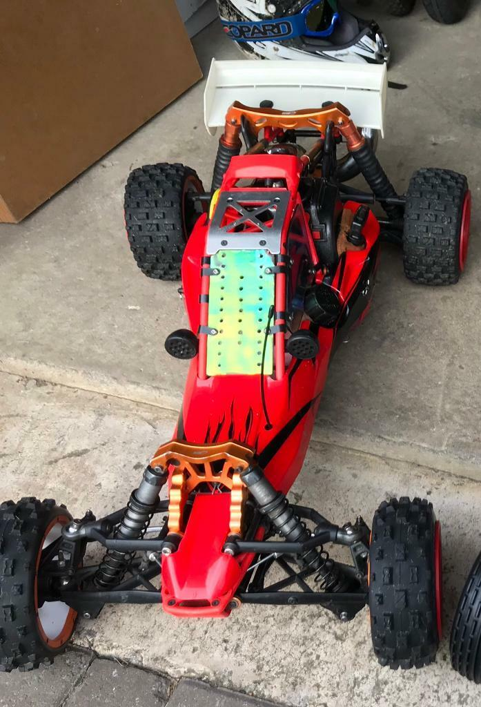2 stroke hpi baja with zenoah 23cc engine rtr Losi/km/rovan rc car | in  Houghton Le Spring, Tyne and Wear | Gumtree
