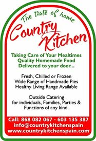 Profitable and expanding home delivery and catering business for sale in Spain