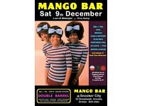 SATURDAY 9th DECEMBER - 60s 70s SOUL / REGGAE / MOTOWN with DOUBLE BARREL – KNOWLE